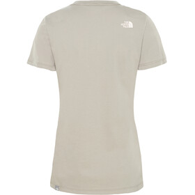 The North Face Easy S/S Tee Women silt grey